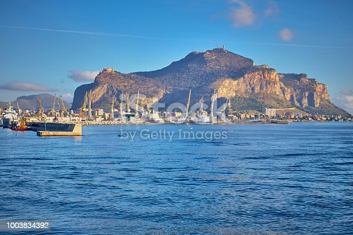A view of Palermo´s harbor