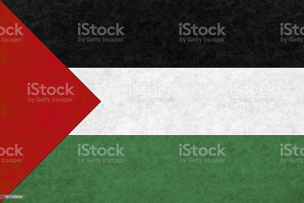 Palestine flag royalty-free stock photo