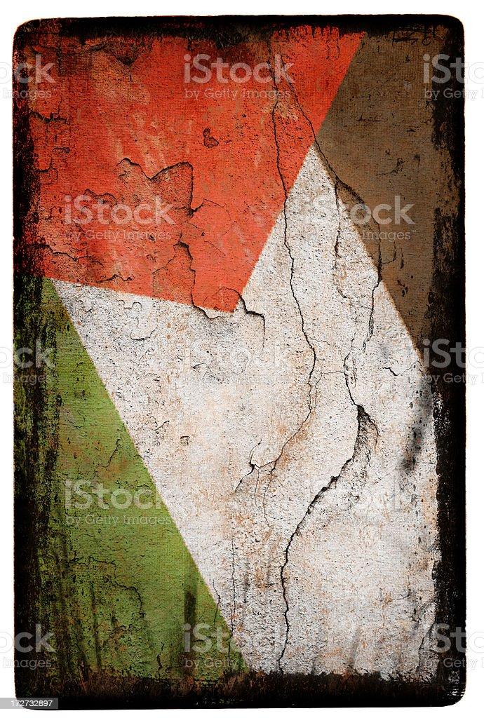 Palestine Flag XXL royalty-free stock photo