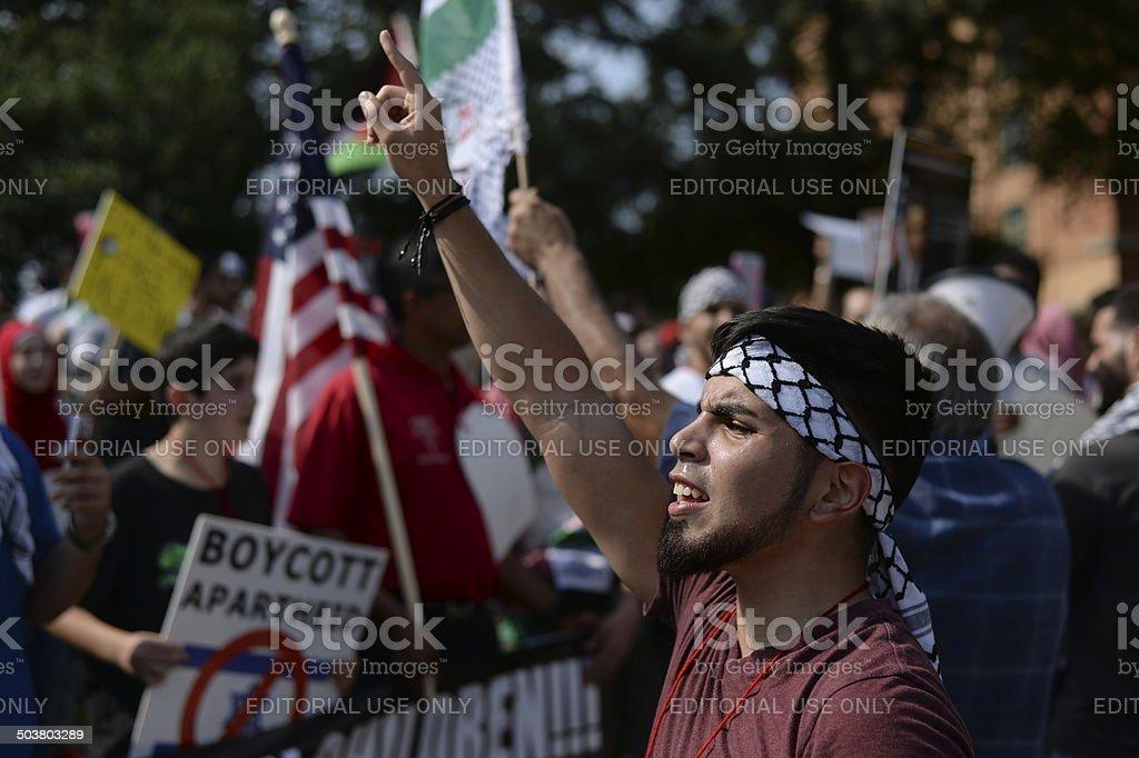 Palestine Rally Photos stock photo