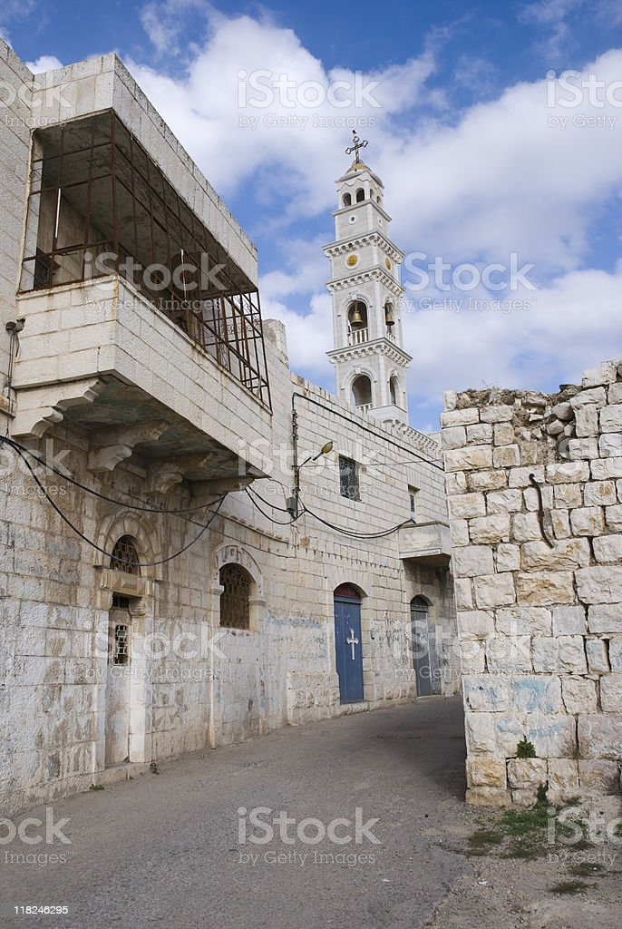 Christianity in the Middle East - Taybeh, Palestine stock photo