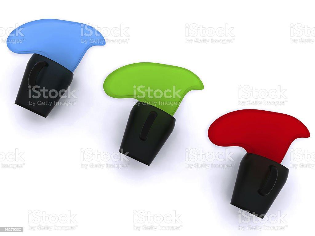 RGB palette royalty-free stock photo
