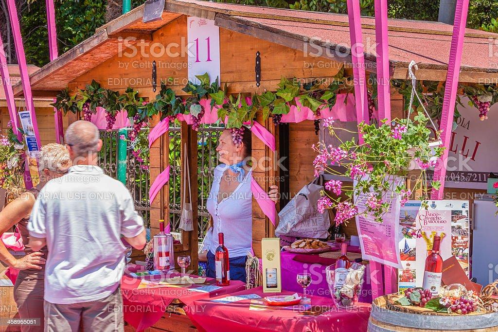 Palio del Chiaretto, Bardolino, Italy stock photo
