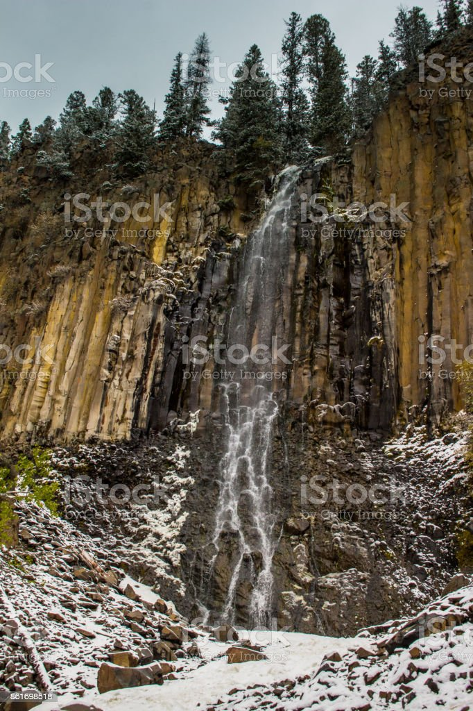 Palisade Falls stock photo