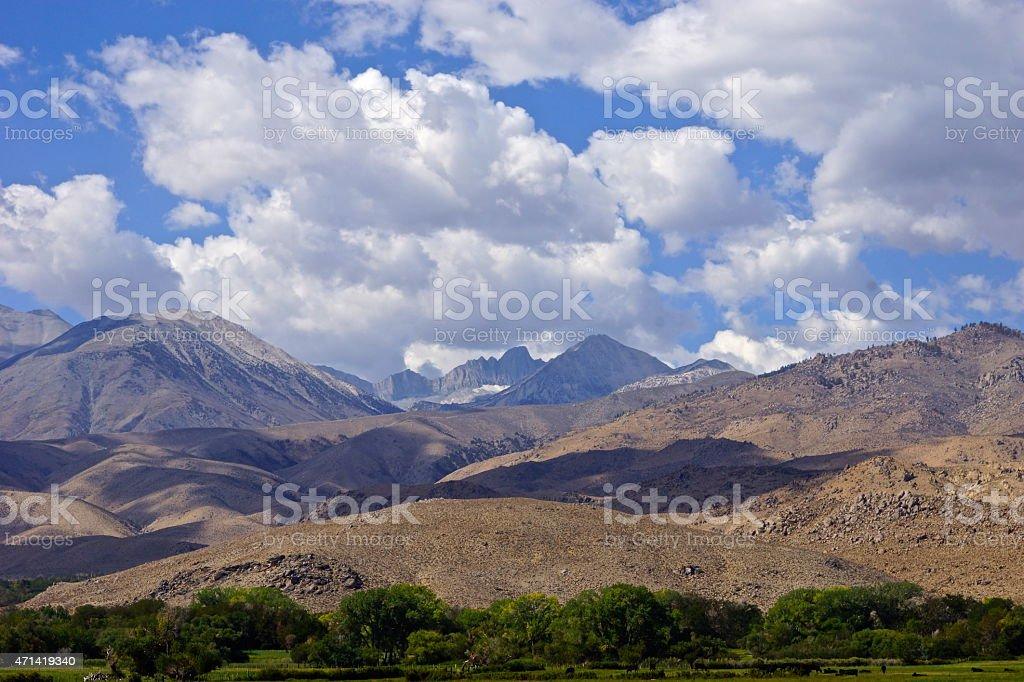 Palisades Glacier High Up stock photo