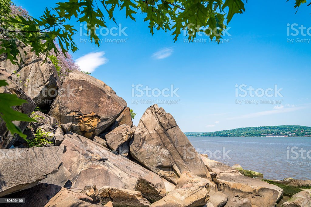 Palisades Interstate Park stock photo