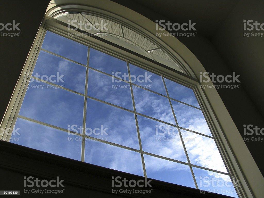 Palladian Window royalty-free stock photo