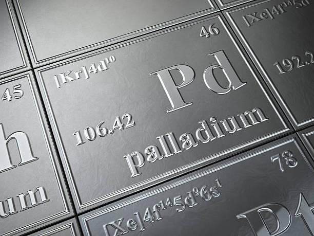 palladium stock photo