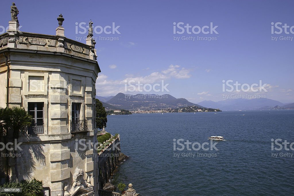 Pallazzo Barromeo royalty-free stock photo