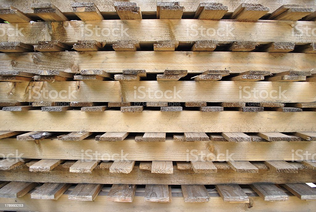 pallet for transport royalty-free stock photo