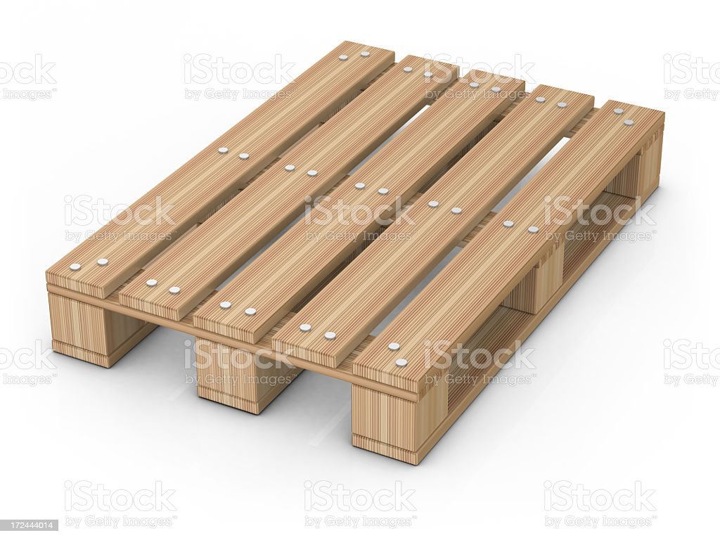 Pallet royalty-free stock photo