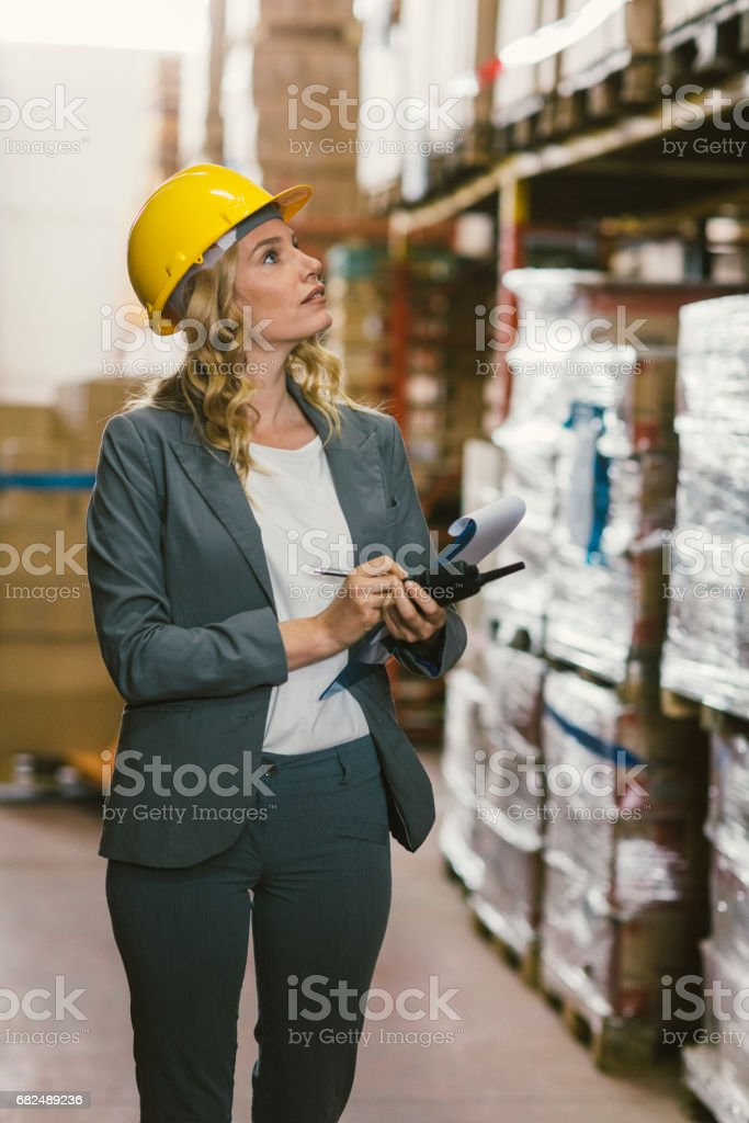 Pallet Truck royalty-free stock photo