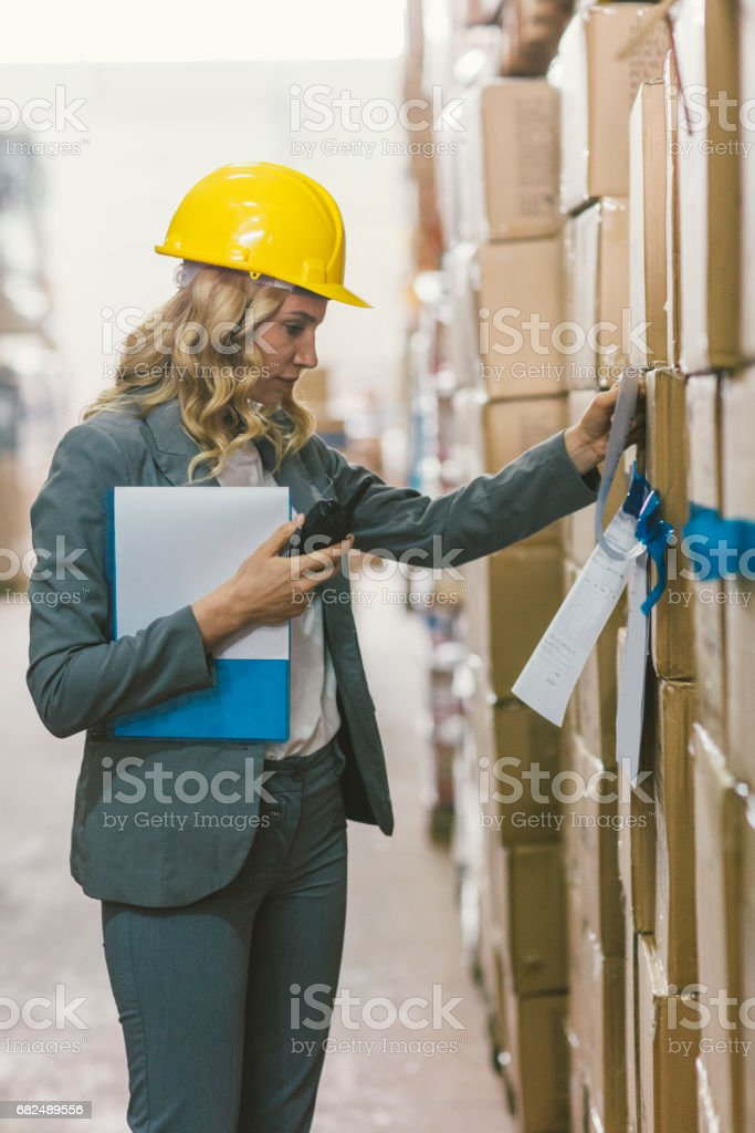 Transpalet royalty-free stock photo