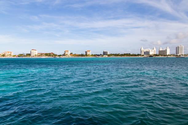 Palm Beach, Aruba stock photo