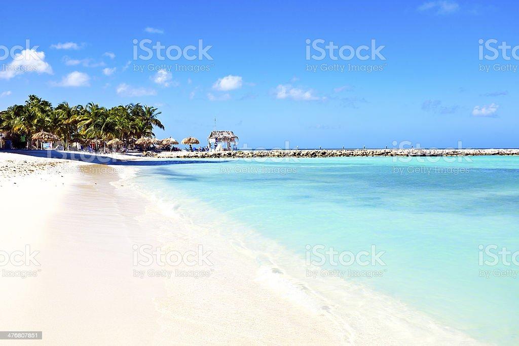 Palm Beach na Arubie – zdjęcie