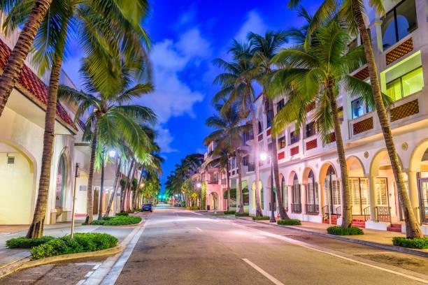 Palm Beach County stock photo