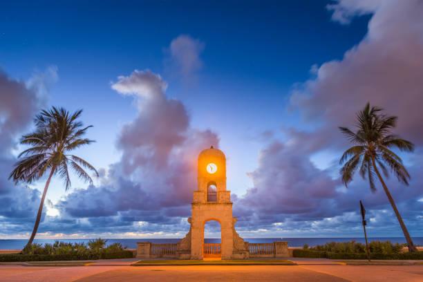 Palm Beach Florida stock photo