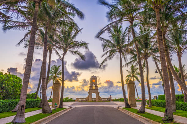 Palm Beach Florida stock photo