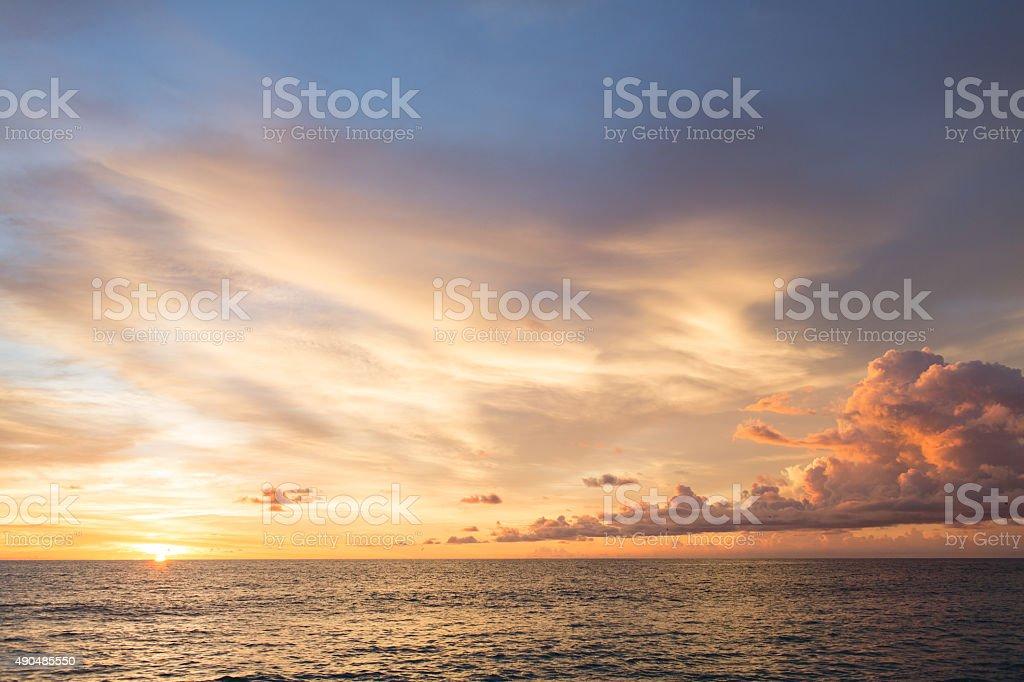 Palm Beach Sunrise stock photo