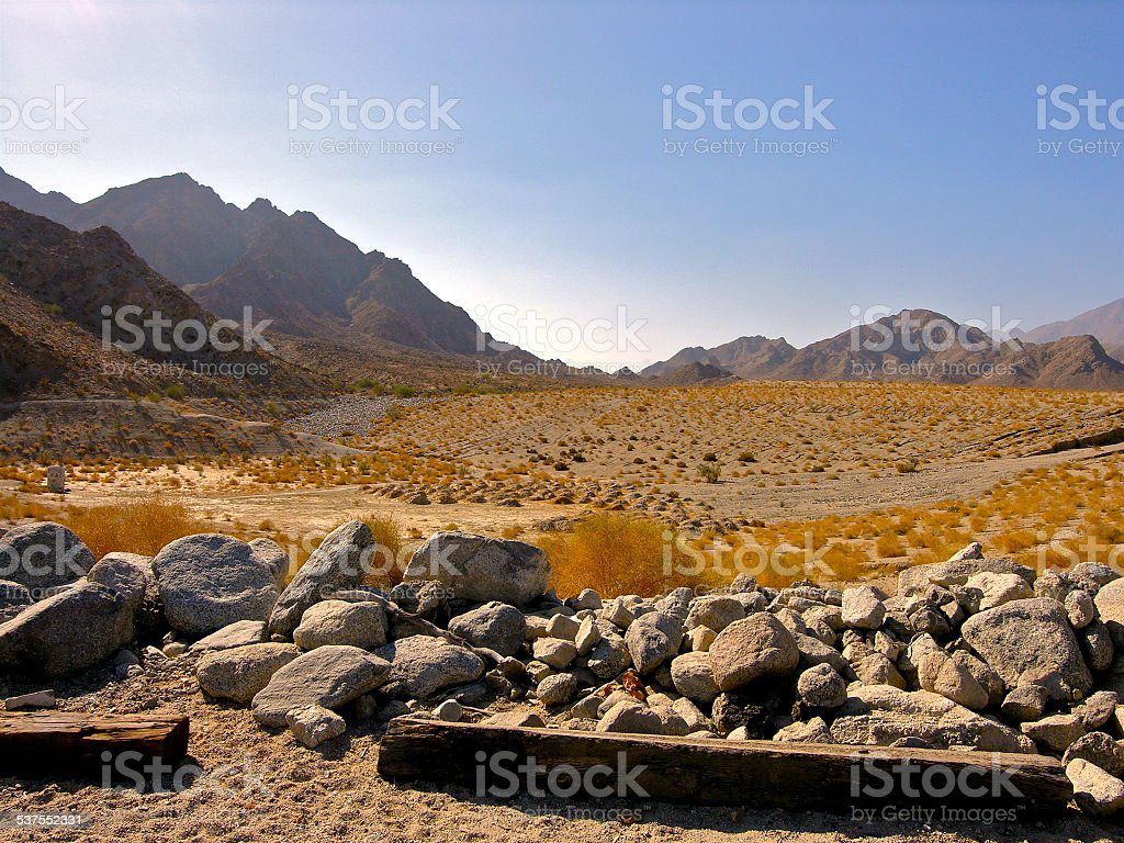 Palm Desert of Southern California stock photo
