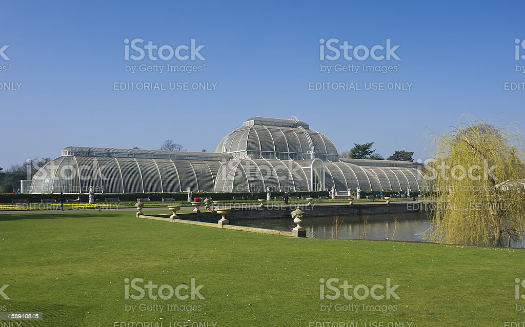 Palm House, Kew Gardens stock photo