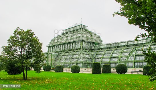 In October 2014, tourists were visiting the Palmenhaus of Schonbrunn, Vienna