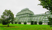 In October 2014, tourists were visiting the Palmenhaus of Schonbrunn, Vienna