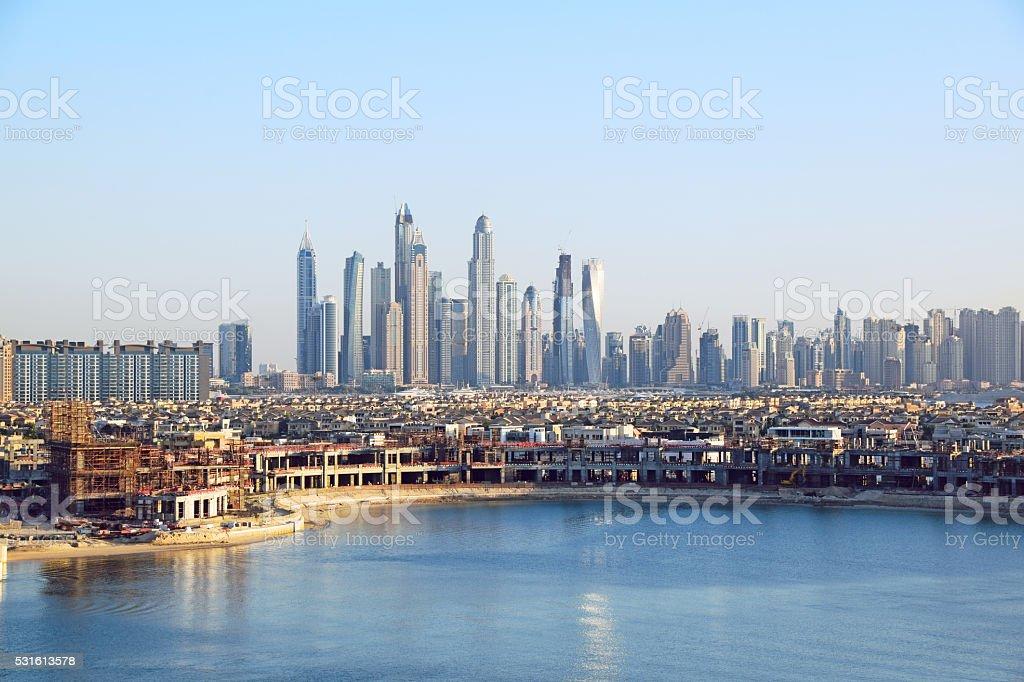 Palm Jumeirah Dubai stock photo
