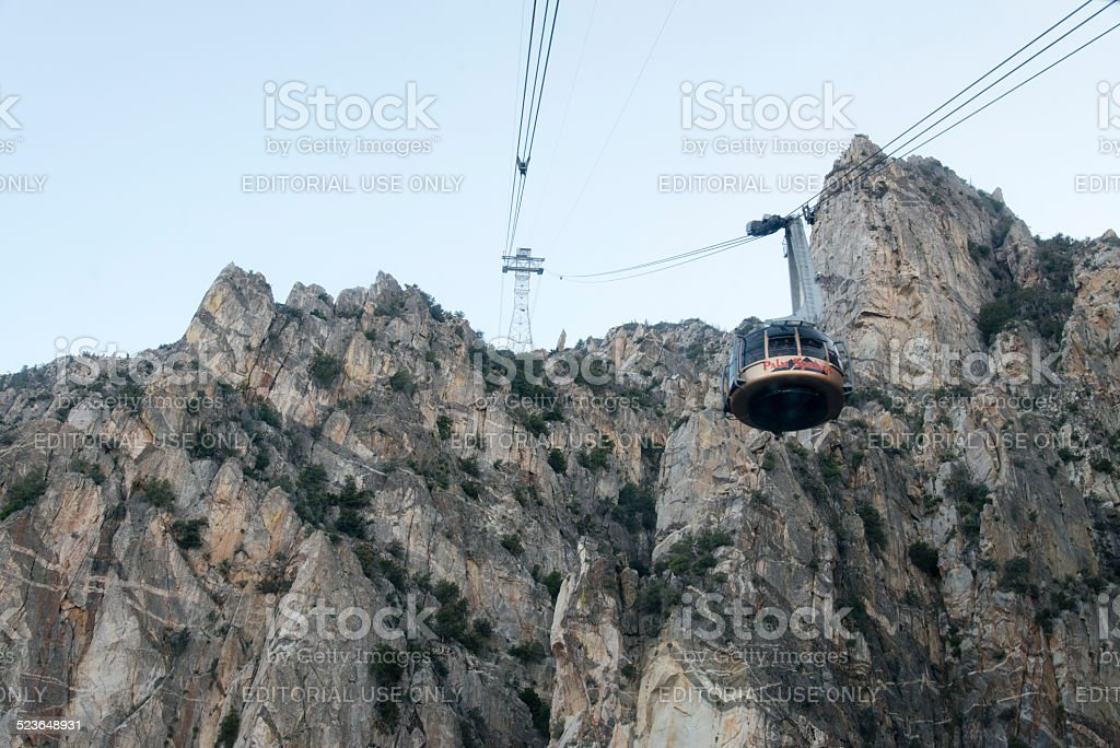 Palm Springs Aerial Tranway stock photo