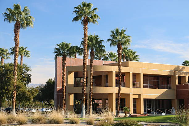 Palm Springs Architecture stock photo