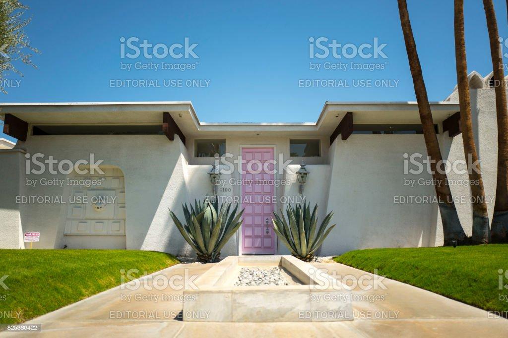 Palm Springs California stock photo