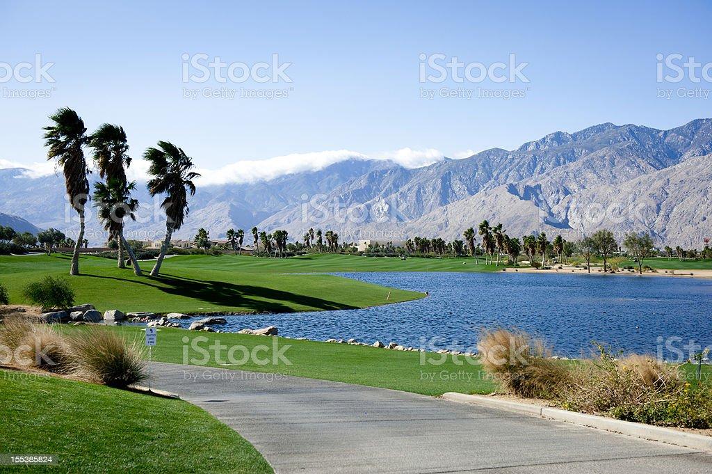 Palm Springs Golf stock photo