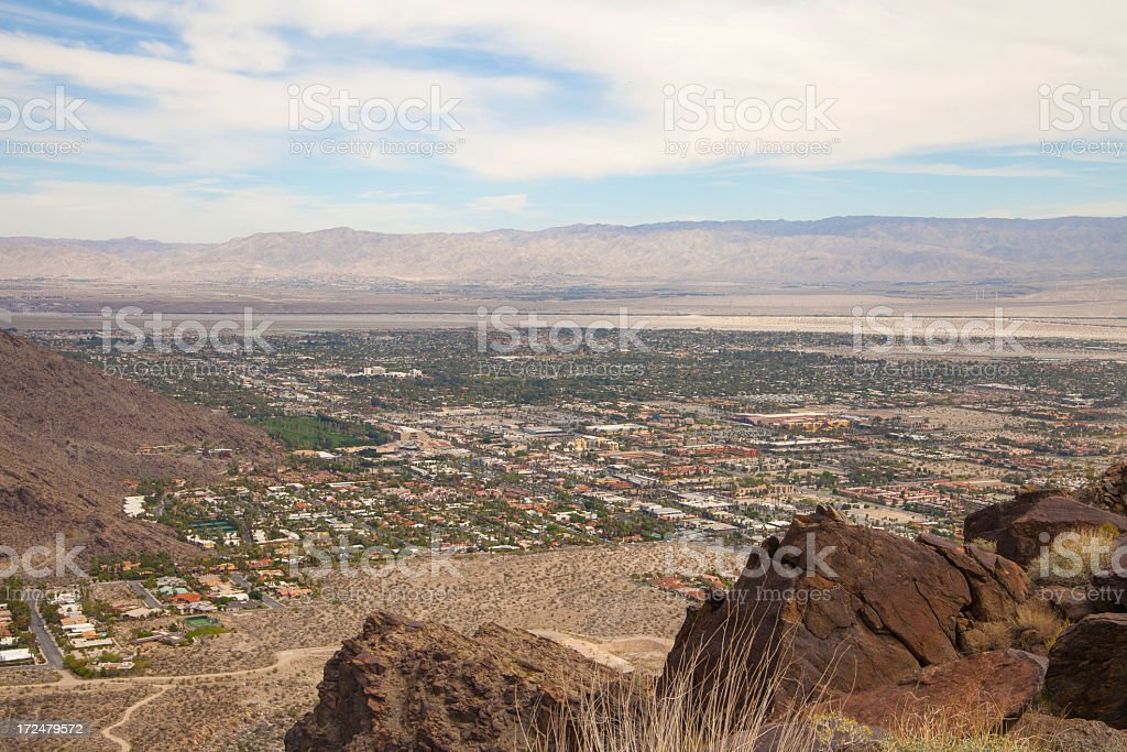 Palm Springs royalty-free stock photo