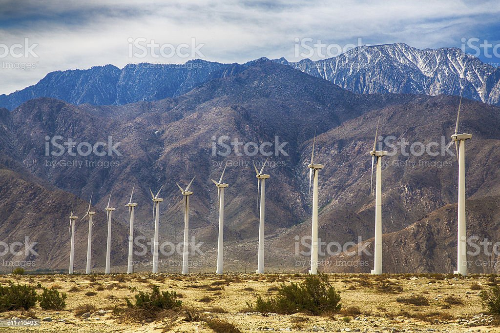 Palm Springs Wind Farm – Foto