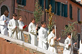 Palm Sunday procession at Venice