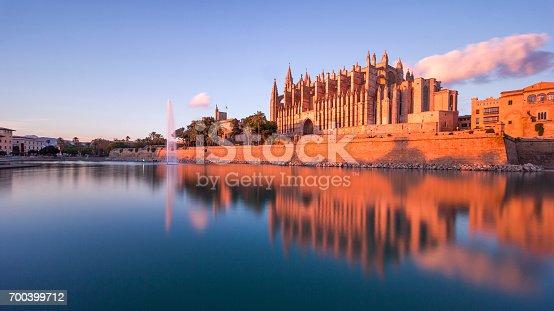 istock Palma Cathederal in Palma, Capital City of Mallorca / Majorca 700399712