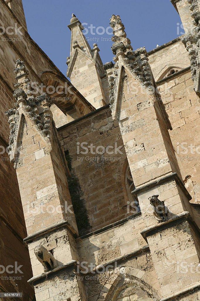 Palma Cathedral royalty-free stock photo