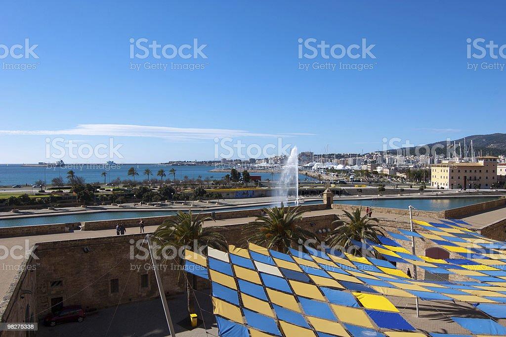 Palma coast royalty-free stock photo