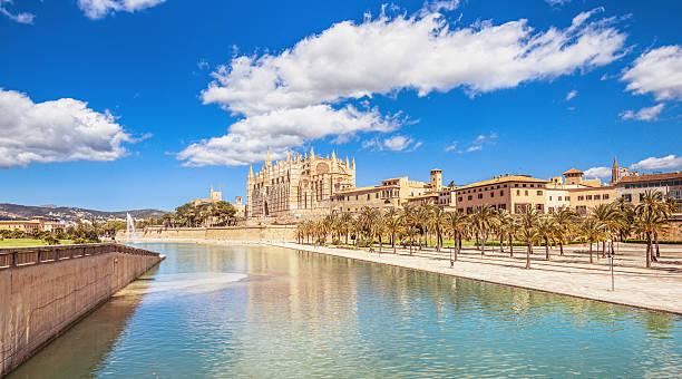 Palma de Mallorca - Cityciew and cathedral