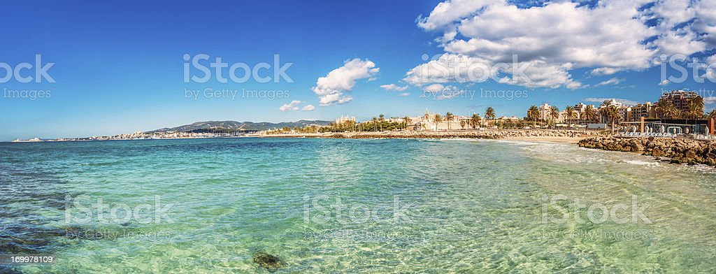 Palma de Mallorca royalty-free stock photo