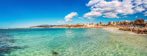 Palma de Mallorca stock photo