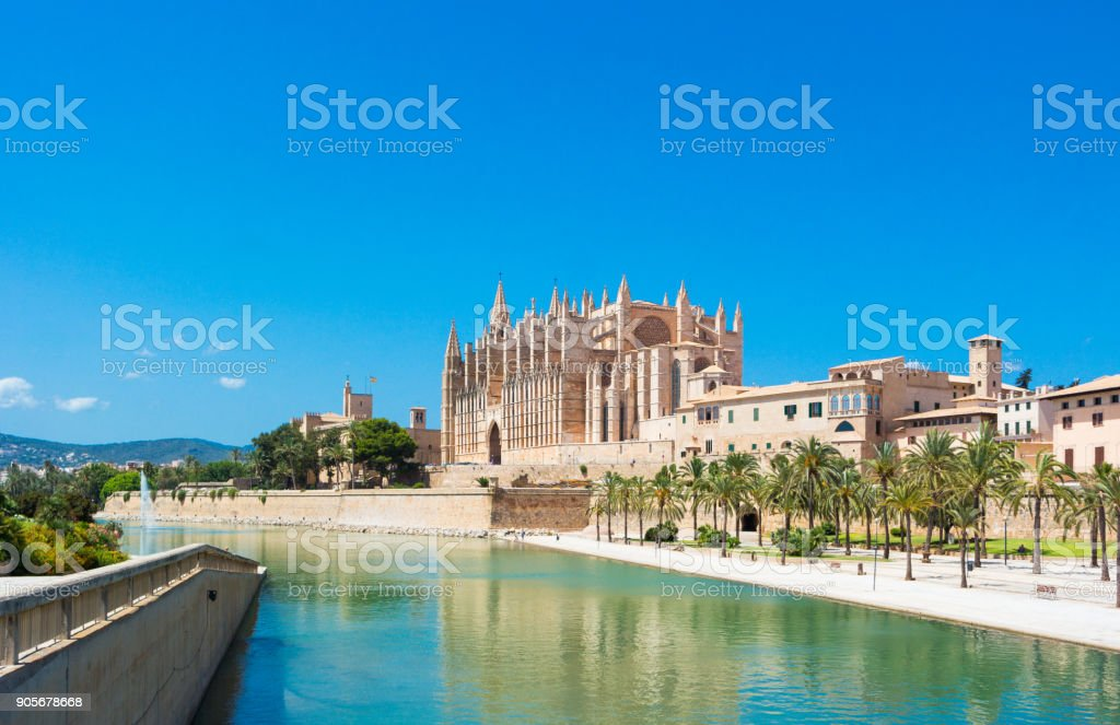 Palma de Mallorca Lizenzfreies stock-foto