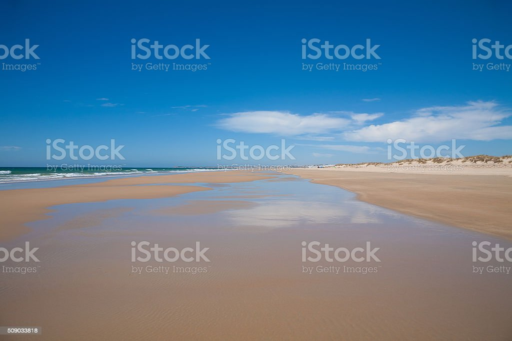 Palmar Beach seashore stock photo