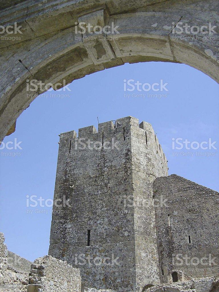 palmela castle11 royalty-free stock photo