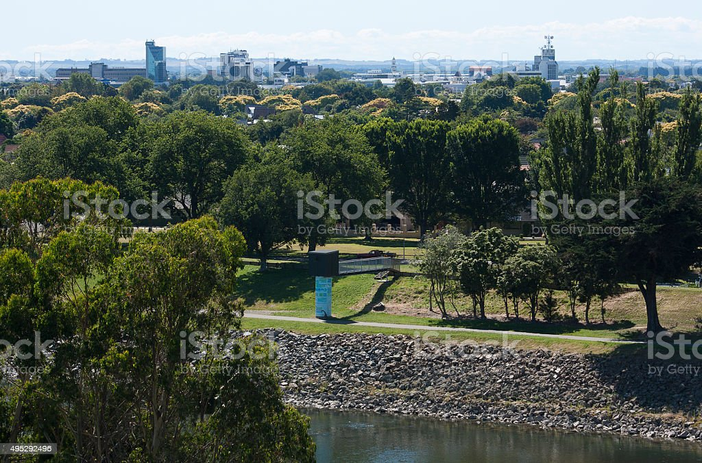 Palmerston North, New Zealand stock photo