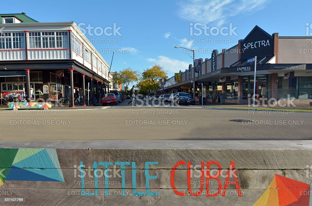 Palmerston North - New Zealand stock photo