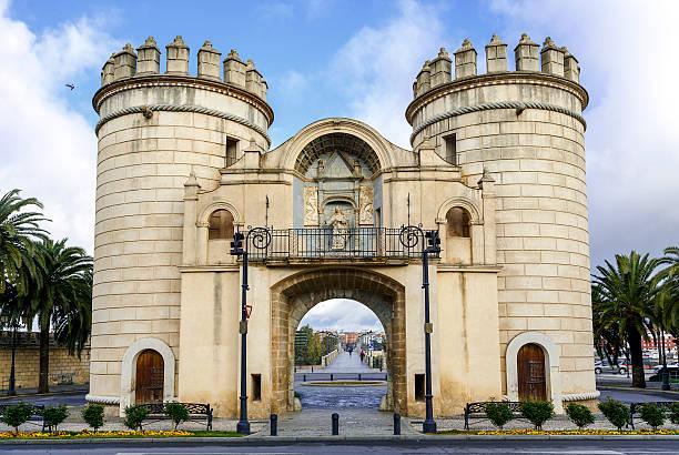 palmas puerta, Badajoz España - foto de stock