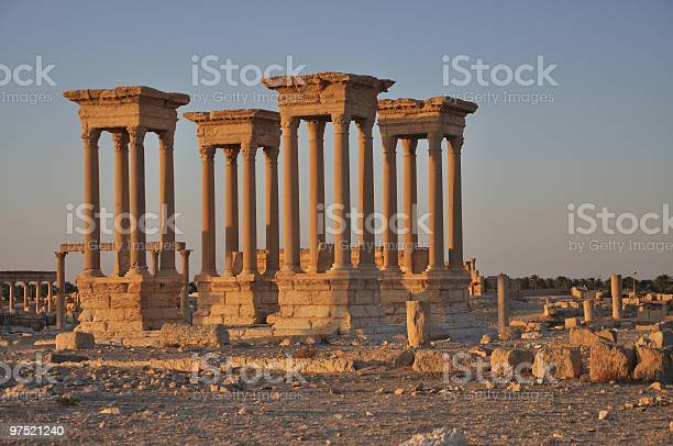 Photo of Palmyra ruins