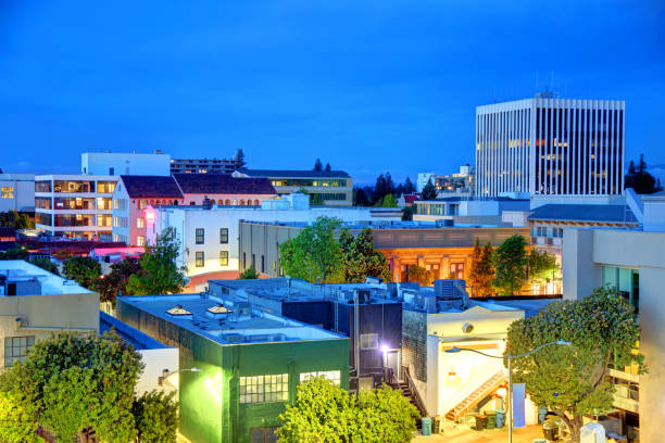 Palo Alto, California stock photo