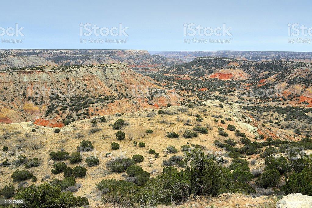 Palo Duro Canyon, Amarillo, Texas stock photo